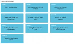 10 Lesson Course Online