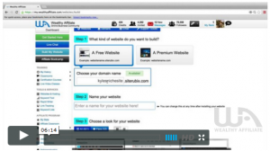 How to create a website in 30 seconds