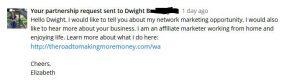 MLM Gateway Business Message