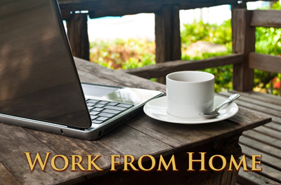 How to work online from home