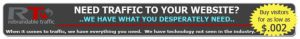 Get Traffic to your website