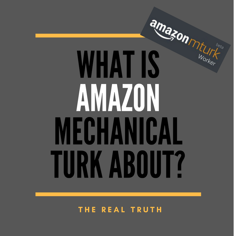 What is Mechanical Turk About