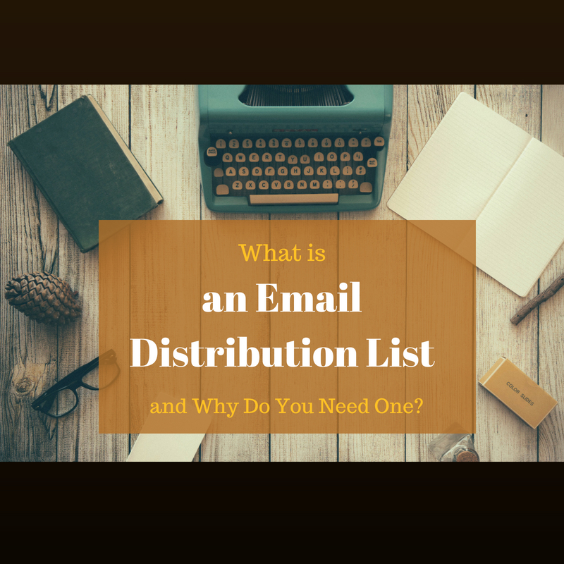 What is an email distribution list