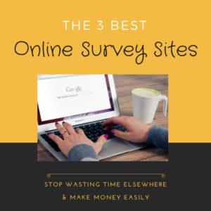 The 3 Best online survey sites