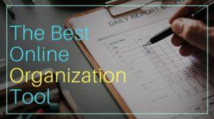 The best online organization tool